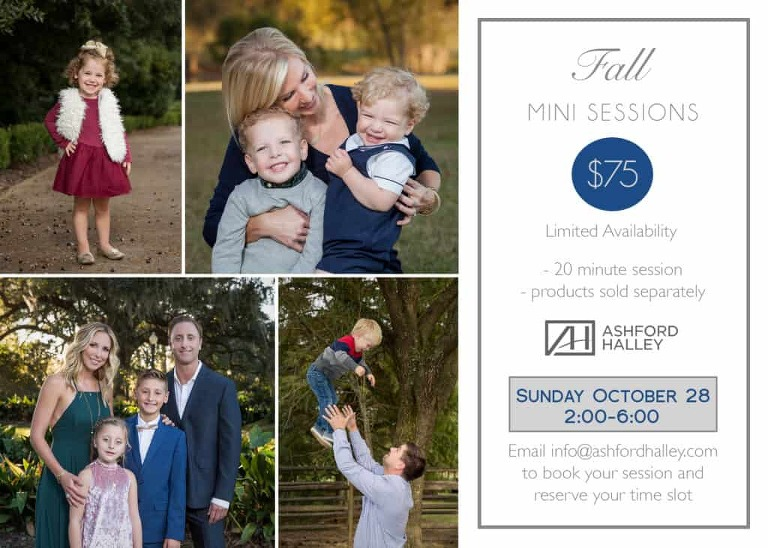 Fall Mini sessions Baton Rouge