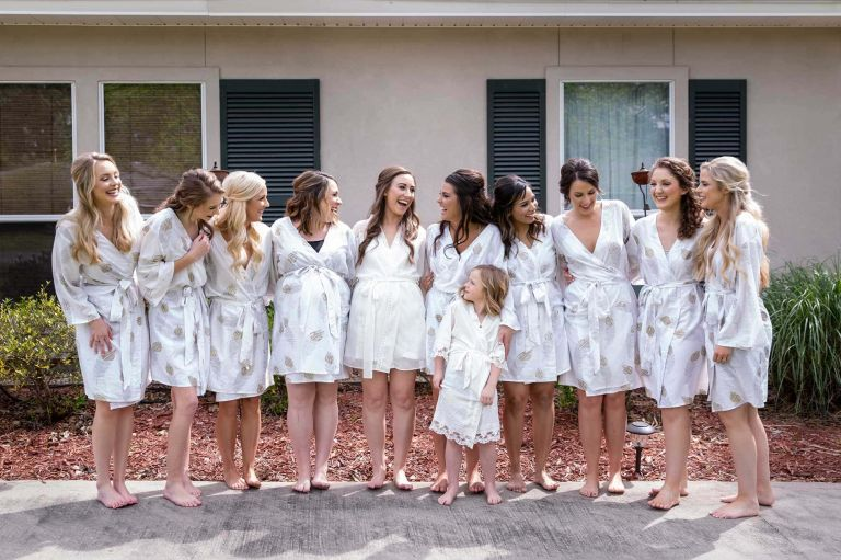 bridal party robe picture